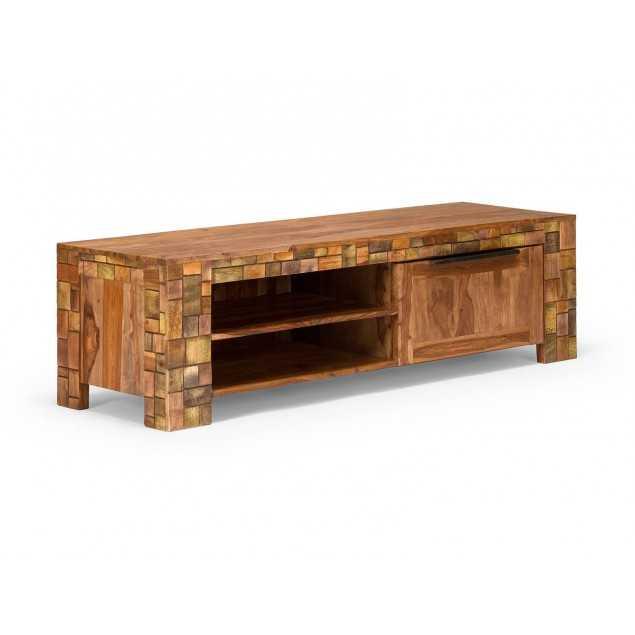 Rustikální televizní stolek Sierra