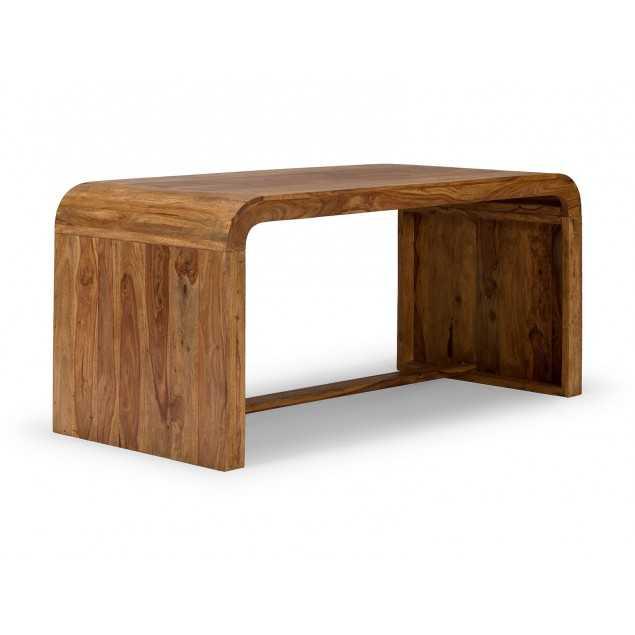 Psací stůl z masivního palisandrového dřeva Cabrera