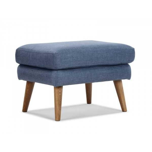 Modrá retro stolička Atlantic Vintage