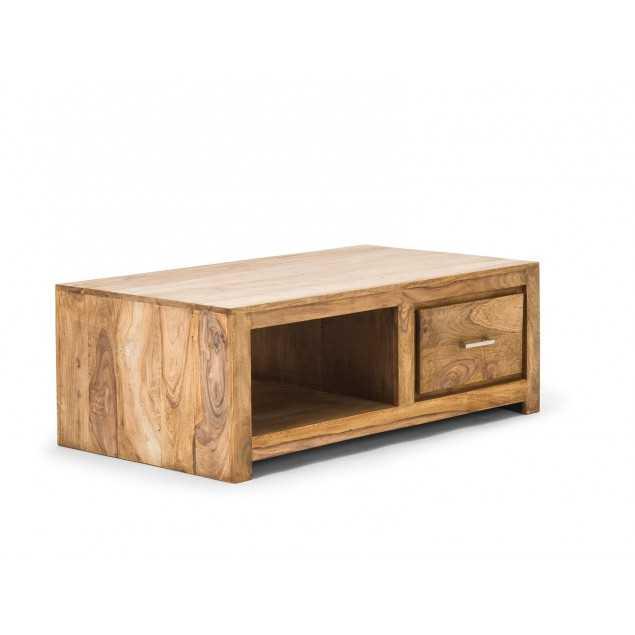 Masivní konferenční stolek Medina z palisandru