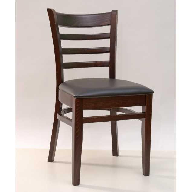 Černá masivní jídelní židle Gastro
