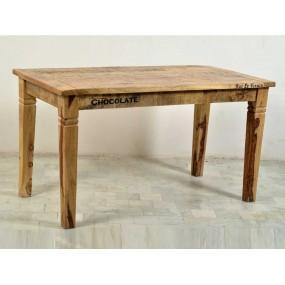 Masivní jídelní stůl 140x70 z mangového dřeva Rhein