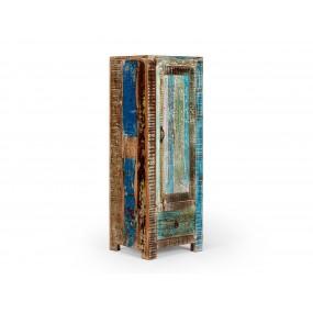 Barevná skříňka z mangového dřeva Oceania