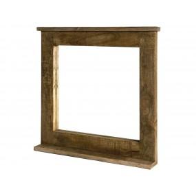 Zrcadlo s mangovým rámem Mannheim