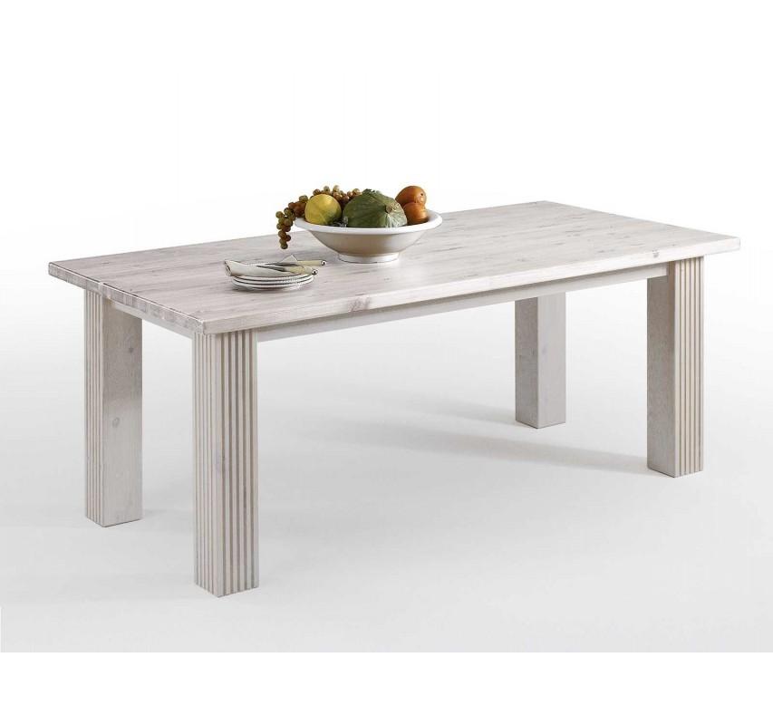 Masivní jídelní stůl z borovice Hancock