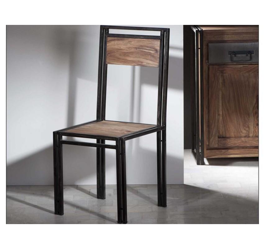 Židle z palisandrového dřeva Rocco
