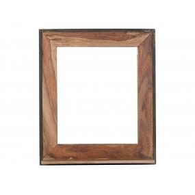 Zrcadlo s masivním rámem z palisandru Rocco