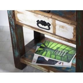 Barevný konzolový stolek z masivu Openwater