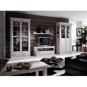 Dřevěný stolek pod televizi Hancock
