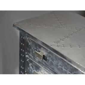 Kuchyňský stolek stříbrný Airman