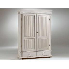 Dvoudveřová šatní skříň Gustav