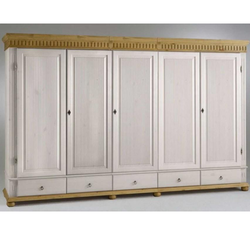 5-dveřová šatní skříň Gustav