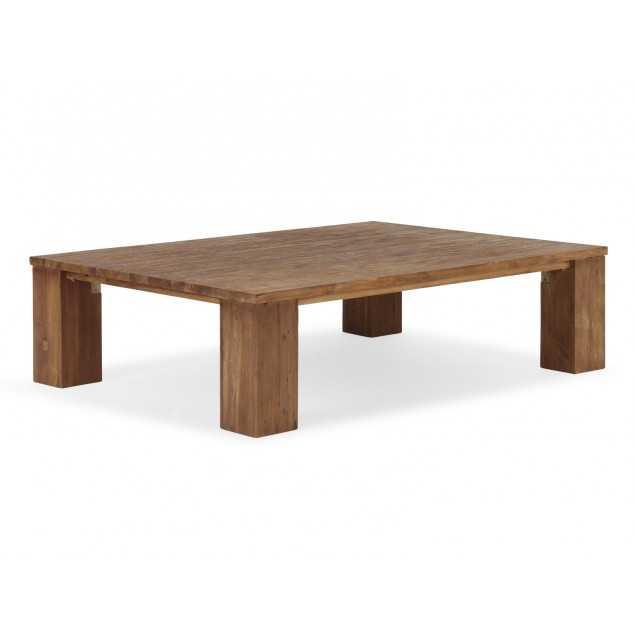 Teakový konferenční stolek 150x110 Casablanca