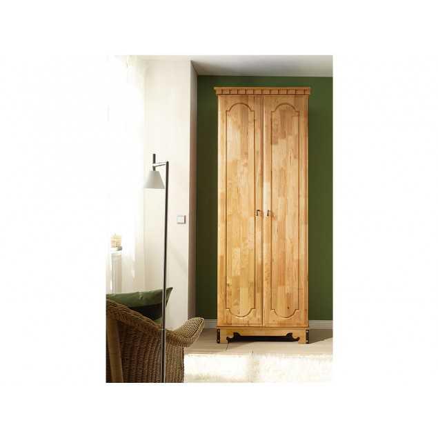 Dřevěná šatní skříň Constantin