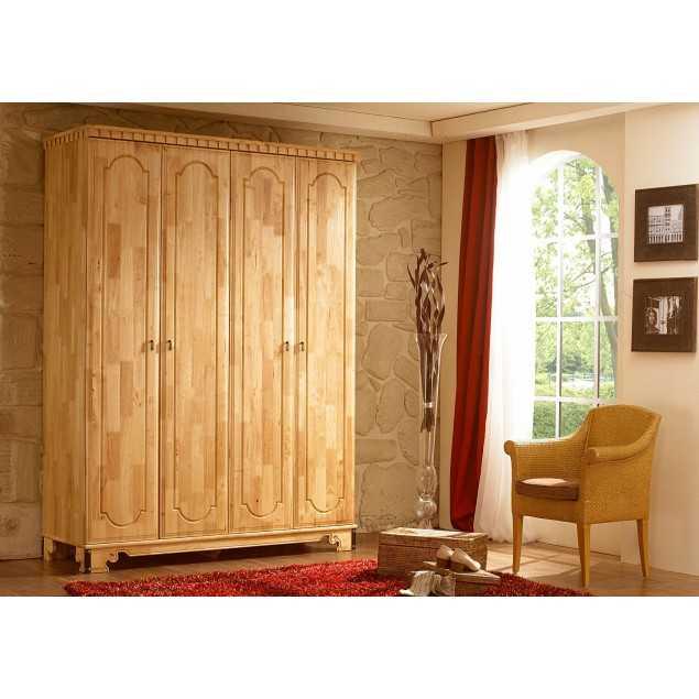 4 dveřová šatní skříň Constantin