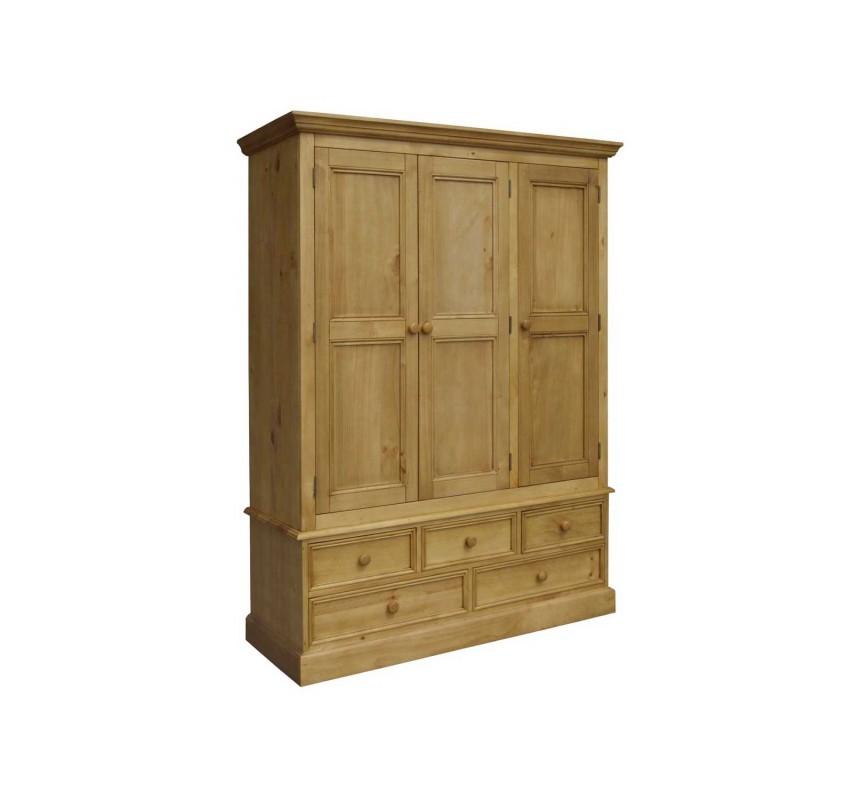 Třídveřová šatní skříň Westmorland