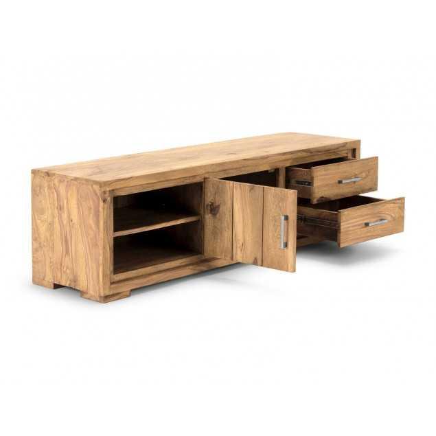 Přírodní TV stolek z palisandrového dřeva 148 cm Medina