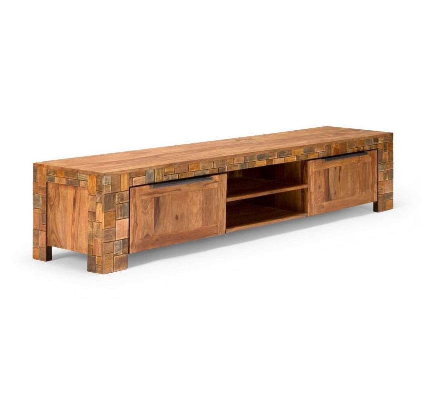Masivní TV stolek Sierra z palisandrového dřeva