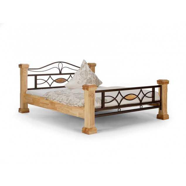 Přírodní postel Constantin kaučukovník