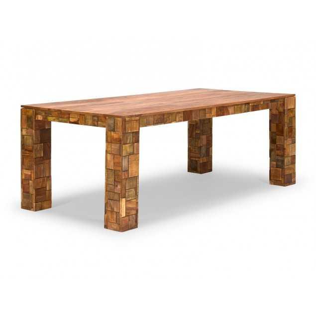 Palisandrový jídelní stůl z masivu Sierra 200x100