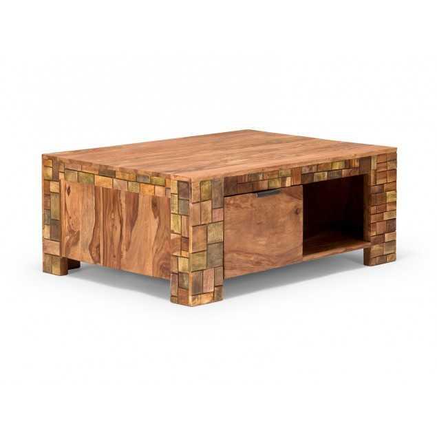 Masivní konferenční stolek Sierra z palisandru