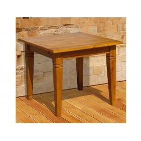 Selský jídelní stůl 90x90 z masivního dřeva Glory