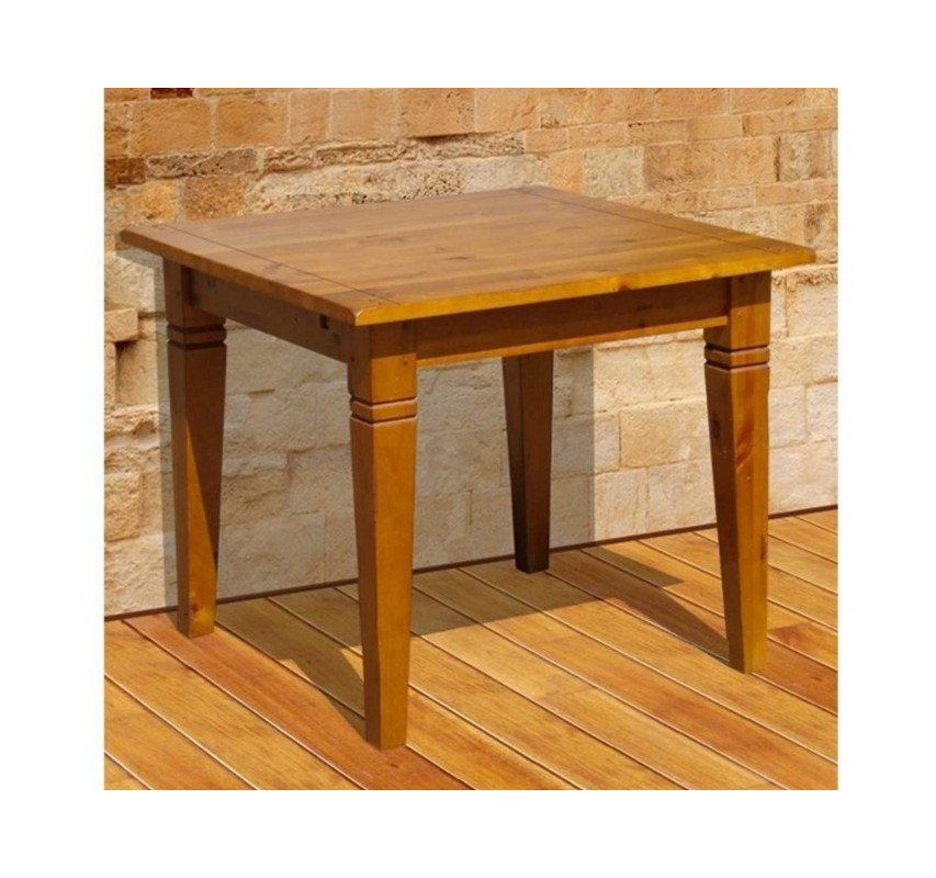 Jídelní stůl 90x90 z masivního dřeva Glory