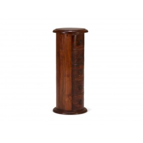Moderní komoda z lakovaného palisandru Arizona