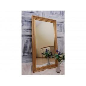 Zlaté zrcadlo Zaros 120x65