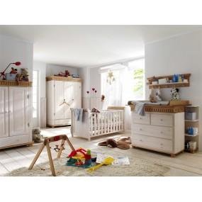 Bílá komoda do dětského pokoje Gustav