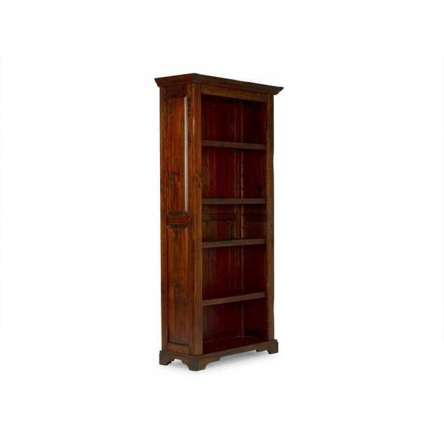 Hnědá knihovna rustikální nábytek Jodpur