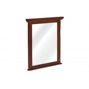 Hnědé zrcadlo v masivním rámu Jodpur
