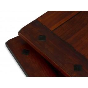 2 přídavné desky ke stolu Jodpur hnědé