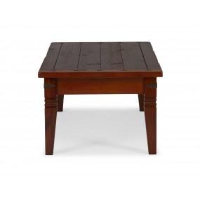 Masivní konferenční stolek 130x65 Jodpur hnědý