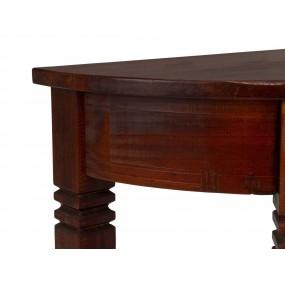 Toaletní stolek z masivní borovice Jodpur hnědý