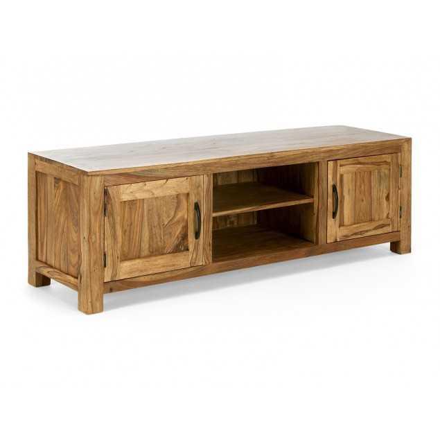Světlý Tv stolek z masivního palisandru Rosewood