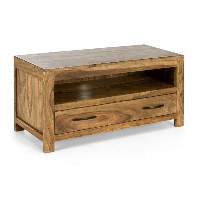 Dřevěný Tv stolek z masivního palisandru Rosewood