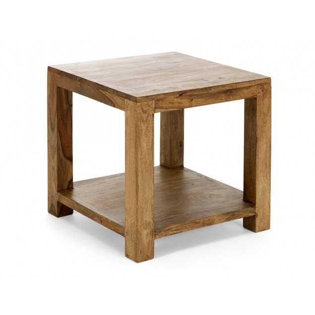 Masivní odkládací stolek z palisandru Rosewood