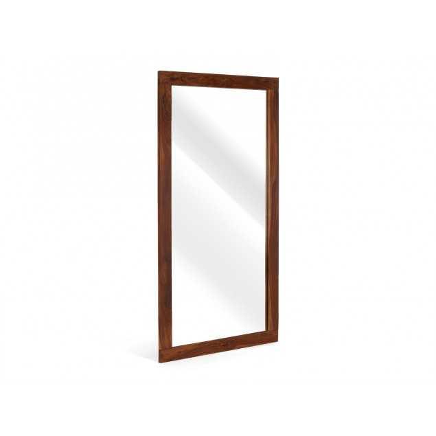 Velké zrcadlo z pevného palisandru Kánpur