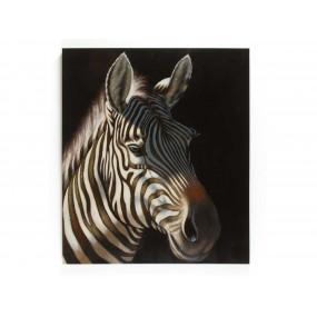 Obraz zebra 150x130 cm
