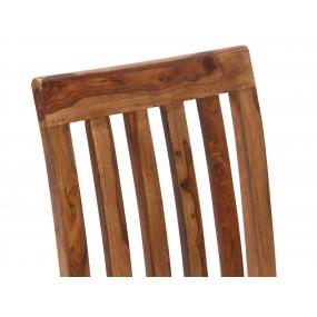 Dřevěná židle z palisandru Santos