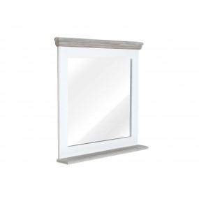 Bílé koupelnové zrcadlo Blanche