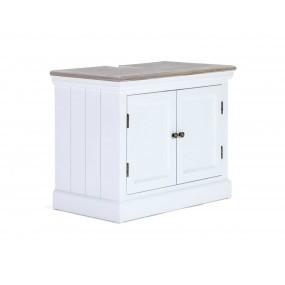 Bílá skříňka pod umyvadlo Blanche