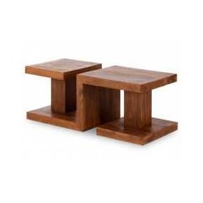 Konferenční stolek z masivu Cube