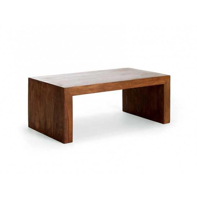 Masivní konferenční stolek Square z palisandru
