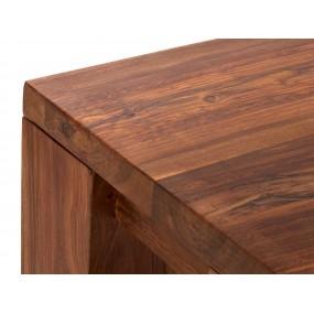 Dřevěná lavice z palisandru Squarus
