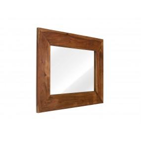 Zrcadlo s palisandrovým rámem Squarus