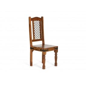 Dřevěná židle z masivního palisandru