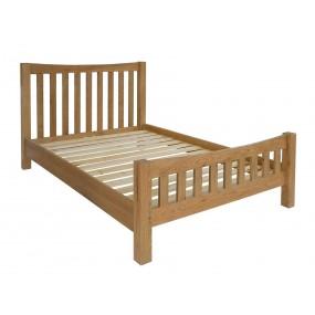 Dřevěná dubová postel Malton 160x200