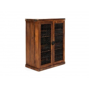 Skříňka na víno z mangového dřeva Artus